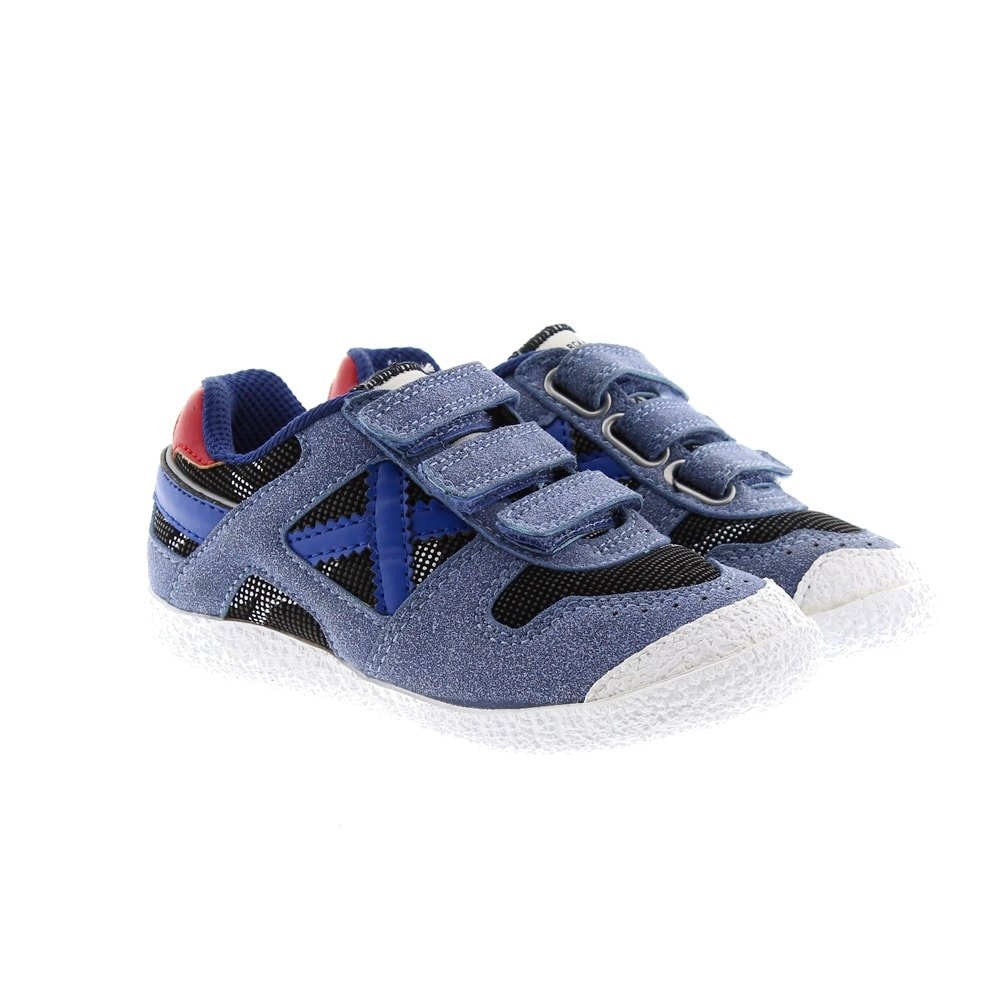 Zapatillas vestir velcro Munich Mini Goal Vco