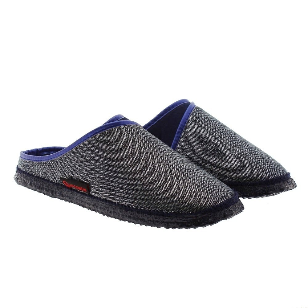 Zapatillas destalonadas algodón casa Giesswein Patsch